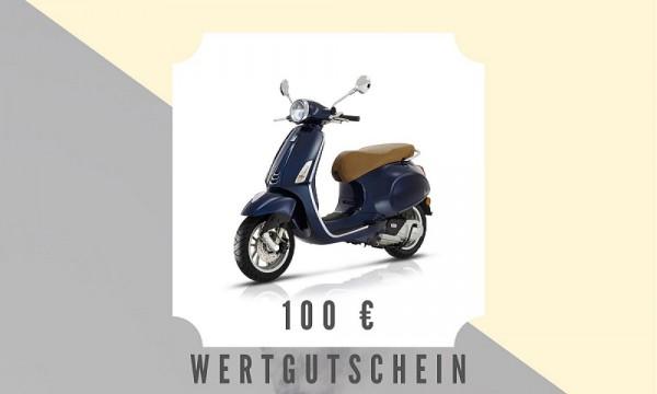 Vespa Roller / 100 € Wertgutschein